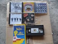 job lot cd's / video's tapes / cassette tapes.