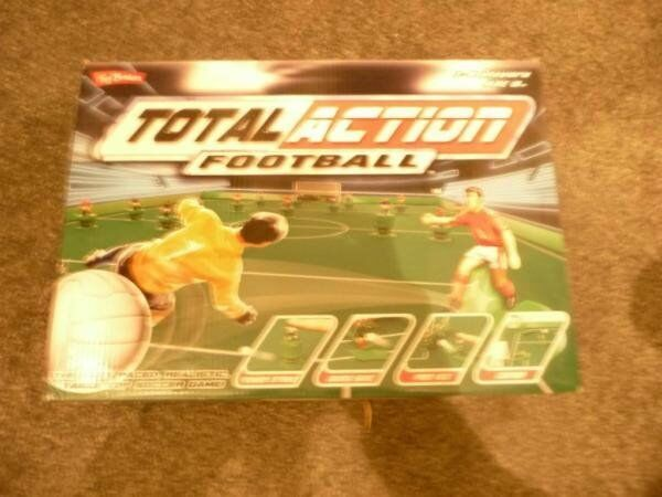 Total Action Football (Subuteo Type Game)