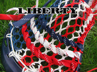 Lacrosse Money Mesh Liberty resembles USA American Flag red white and blue