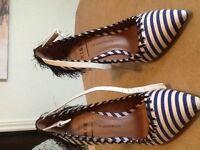 Pointure 5 - Chaussures talons haut portés 2 fois
