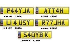 Asian Name Numbers Plate For Sale
