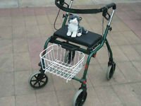 "Popular ""Ultra-Light ""Artisan Ovation Rollator Walker For Sale"