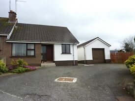 Three bedroom house to let in quiet cul-de-sac in Rathfriland with garage, NO PETS