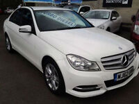 Mercedes-Benz C-Class C200 CDI BlueEFFICIENCY Executive SE (FULL LEATHER)