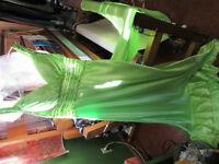 PROM DRESS: ELEGANT floor length, empire waist with STRAP