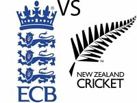 England Vs New Zealand ICC Championship family stand 4 Adult 2 Child **Bargain**