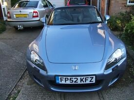 Honda S2000 GT 2002 for sale. Very low mileage and in excellent condition. Only 3 previous owners