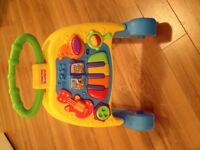 Like New Fisher Price Musical Walker