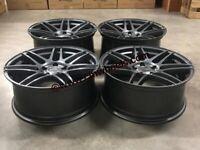 """20"""" Inch Strom STR3 Alloy Wheels mercedes C E S Class 5X112 W205 W212 W213 W221"""