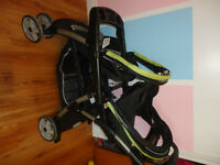 Graco Car seat & Double Stroller For Sale.