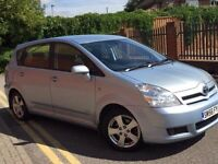 Toyota corolla verso d4d 7seater 06 diesel full service history, 1former keeper, excellent con