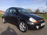 2005 FORD KA MOT EXPIRED BUT NO ADVISORIES 11 STAMPS IN BOOK FULL LEATHER SERVICE HISTORY