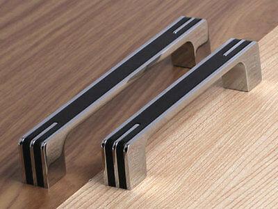 Schwarze Küche Türgriffe (32 96 128 160 224 320 mm Schwarz Silber Türgriffe Schrank Griff Küchengriffe )
