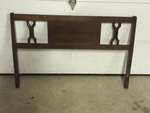 Double headboard for sale only five dollars