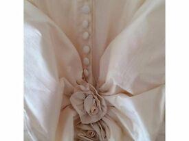 Beautiful Silk Wedding Dress