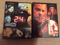 24 series 5 & 6 dvd - perfect condition