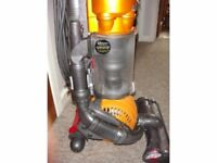 Dyson DC24 Lightweight Fully Serviced for All-Floors and Pet Use, NEW HEAD FITTED!!