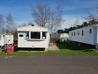 Deluxe 3 bed caravan to rent at Seton Sands holiday park - pets welcome