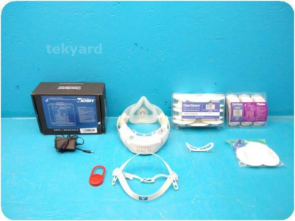 CLEANSPACE HALO CS3022 RESPIRATOR W/ ACCESSORIES @ (273428)