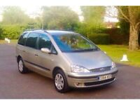 2oo5 ford galaxy 1.9 tdci , 7 SEATER , 4 months mot , 85999 low mileage