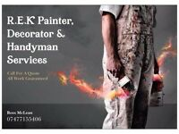 Professional painter,decorator and handyman