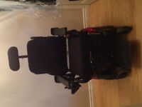 Power Wheelchair with Tilt and Joey Lift