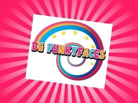 DG Funkyfaces Face Painter and Glitter Tattoo Service Face painting Dumfries & Galloway!