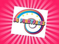 DG Funkyfaces Face Painter and Glitter Tattoo Service