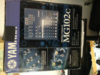 Yamaha mixer MG102C in brand new condition