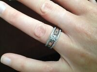 Authentic Canadian Diamond Engagement Ring