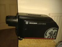 IMAGE PROJECTOR complete with extra large white screen for wall size viewing