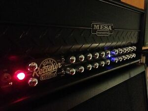 "Like New Mesa Roadster Head with 2x12"" V30s Mesa Horizontal Cab Windsor Region Ontario image 3"