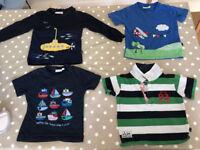 4 JOJO Maman Bebe themed t-shirts ages 3-4yrs £5