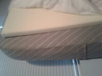Twin Mattress with thick Foam Pad and Mattress protector