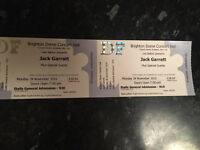 2x Jack garratt tickets