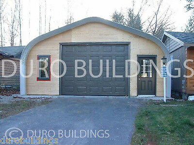 Durospan Steel 30x48x16 Metal Building Workshop Diy Garage Kit Open Ends Direct