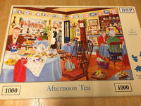 """Jigsaw puzzle """"afternoon tea """""""