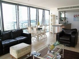 West India Quay, E14 - A jaw dropping 29th floor one bed apartment available now. - KJ