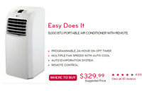 CLIMATISEUR DÉSHUMIDIFICATEUR Neuf  AIR CONDITIONER DEHUMIDIFIER