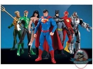 We Can Be Heroes Justice League 7-Pack Dc Direct Superman Batman Flash New 52