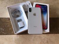 iPhone X white 64gb
