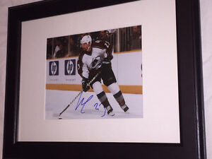 Milan Hejduk Autographed Colorado Avalanche 8x10 Framed