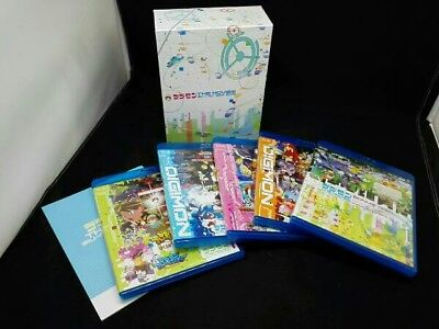 DIGIMON THE MOVIES Blu-ray 1999-2006 First Limited Edition Japan rare