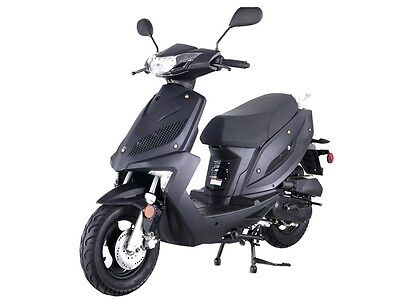 Brand New Speed 50,  49cc motor scooter moped  Free S/H! LEDs,  MANY UPGRADES