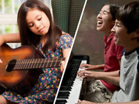 Lessons for Piano, Violin, Guitar, Voice, Drums, and more!