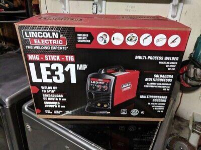 Lincoln Electric Le31mp Mig-stick-tig Multi Process Weldernew120v-120a K3461-1