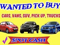 Cars and vans for cash running or not damage vehicles hassle free sale