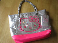 Hello Kitty Bag, Phone Case & Necklace