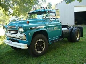 WTB 1958-59 chev or gmc Viking or spartan.