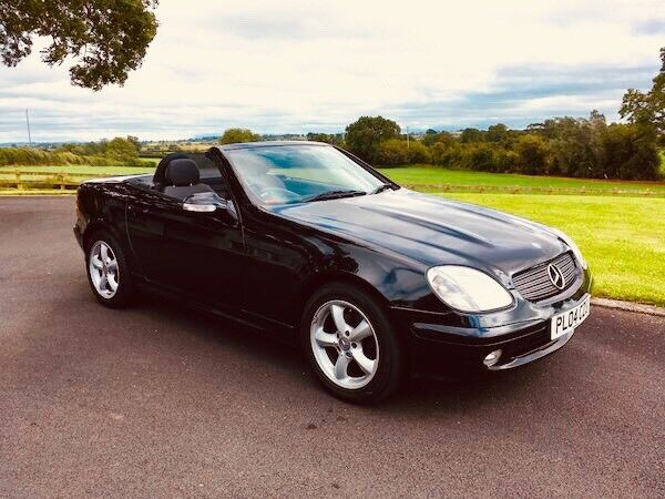 2004 Mercedes SLK 200K Convertible 'low miles'